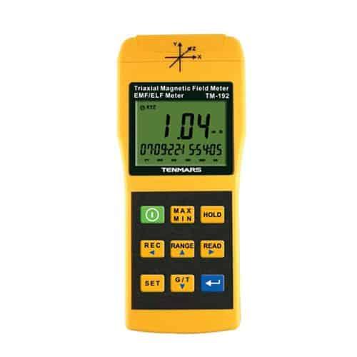 TM-192 3-axis EMF Meter